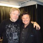Bobby with Randy Bachman and Burton Cummings